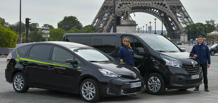 Shared Shuttle Paris Airport