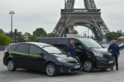 Chauffeurs et véhicules de Parishuttle
